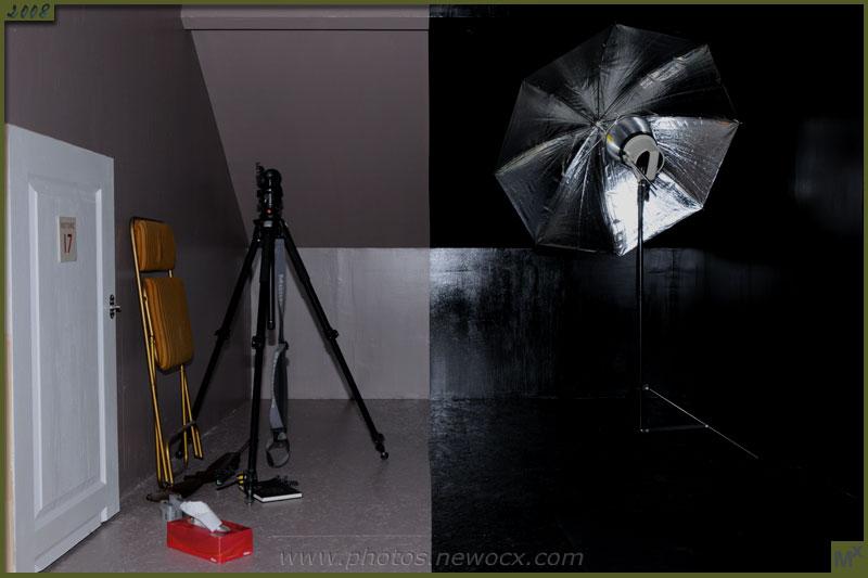 Book d'Alexandre - Le studio photos pour les modèles