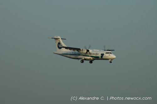 Photo avion CS-TLR : ATR 42 72 de la compagie Aerocondor Portugal (Paris Orly (LFPO))