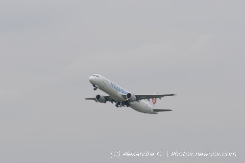 Photo avion CN-ROF : Airbus A321 de la compagie Atlas Blue (Paris Orly (LFPO))
