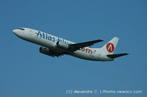 Photo avion CN-RMX : Boeing 737 de la compagie Atlas Blue (Paris Orly (LFPO))