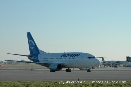 Photo avion UR-GAS : Boeing 737 de la compagie Adria Airways (Paris Charles de Gaulle (LFPG))