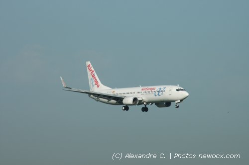 Photo avion EC-HZS : Boeing 737 Next Gen de la compagie Air Europa (Paris Orly (LFPO))
