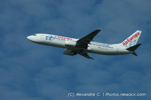 Photo avion EC-ISE : Boeing 737 Next Gen de la compagie Air Europa (Paris Orly (LFPO))