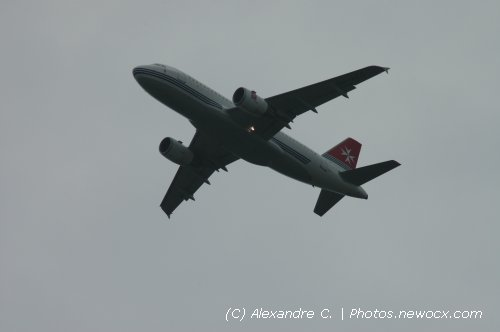 Photo avion 9H-AEG : Airbus A319 de la compagie Air Malta (Paris Orly (LFPO))