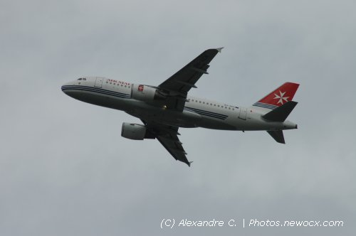 Photo avion 9H-AEH : Airbus A319 de la compagie Air Malta (Paris Orly (LFPO))