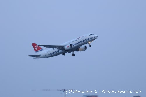 Photo avion 9H-AEI : Airbus A320 de la compagie Air Malta (Bruxelles (EBBR))