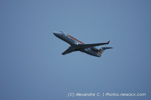 Photo avion EC-IBM : Canadair Regional Jet de la compagie Air Nostrum (Paris Orly (LFPO))