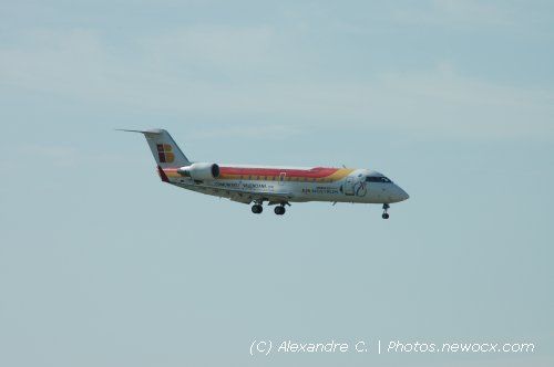 Photo avion EC-IJF : Canadair Regional Jet de la compagie Air Nostrum (Paris Orly (LFPO))