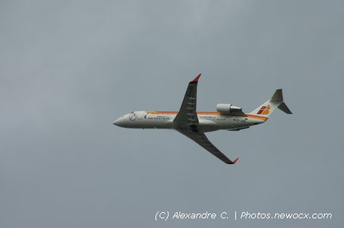 Photo avion EC-JOD : Canadair Regional Jet de la compagie Air Nostrum (Paris Orly (LFPO))