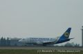 Miniature photo spotting Boeing 737 Ukraine International Airlines UR-GAK - Cliquez pour agrandir
