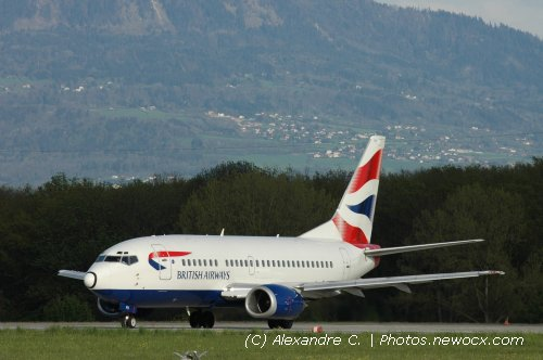 Photo avion G-GFFH :  Boeing 737 de la compagie British Airways (Geneva Geneve-Cointrin (LSGG))