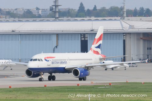 Photo avion G-EUOA : Airbus A319 de la compagie British Airways (Geneva Geneve-Cointrin (LSGG))