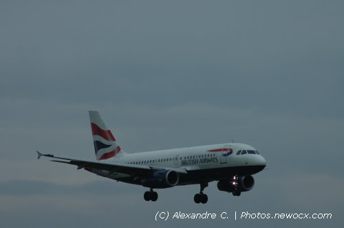 Photo avion G-EUOB : Airbus A319 de la compagie British Airways (Geneva Geneve-Cointrin (LSGG))