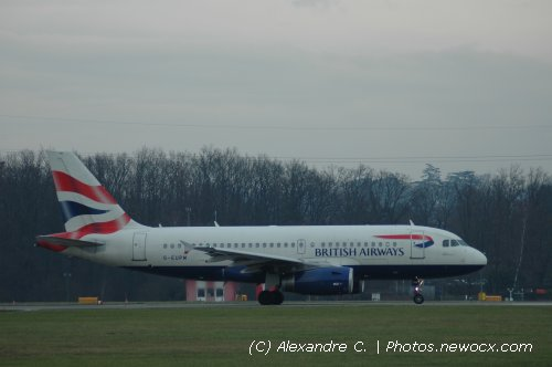 Photo avion G-EUPM : Airbus A319 de la compagie British Airways (Geneva Geneve-Cointrin (LSGG))