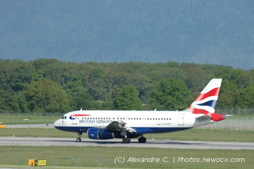 Photo avion G-EUPR : Airbus A319 de la compagie British Airways (Geneva Geneve-Cointrin (LSGG))