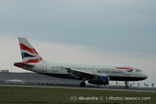 Photo avion G-EUPV : Airbus A319 de la compagie British Airways (Paris Charles de Gaulle (LFPG))