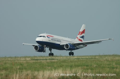Photo avion G-EUPX : Airbus A319 de la compagie British Airways (Paris Charles de Gaulle (LFPG))