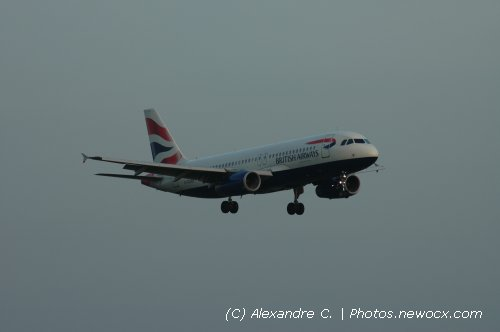 Photo avion G-EUUF : Airbus A320 de la compagie British Airways (Paris Charles de Gaulle (LFPG))