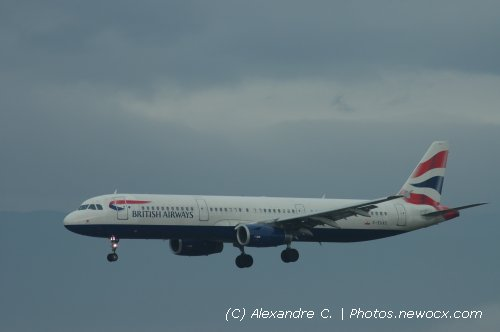 Photo avion G-EUXC : Airbus A321 de la compagie British Airways (Geneva Geneve-Cointrin (LSGG))