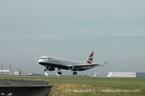 Photo avion G-EUXC : Airbus A321 de la compagie British Airways (Paris Charles de Gaulle (LFPG))