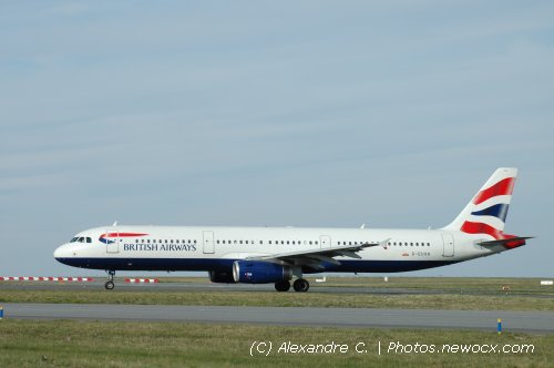 Photo avion G-EUXH : Airbus A321 de la compagie British Airways (Paris Charles de Gaulle (LFPG))