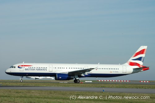 Photo avion G-EUXL : Airbus A321 de la compagie British Airways (Paris Charles de Gaulle (LFPG))