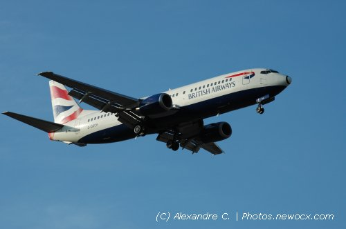 Photo avion G-DOCH : Boeing 737 de la compagie British Airways (Marseille Marignane-Provence (LFML))