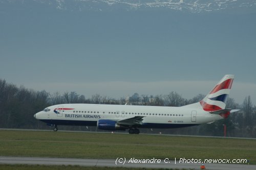 Photo avion G-DOCS : Boeing 737 de la compagie British Airways (Geneva Geneve-Cointrin (LSGG))
