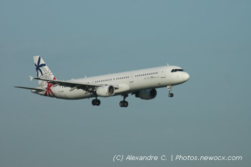 Photo avion F-GYAR : Airbus A321 de la compagie Air Mediterranee (Paris Orly (LFPO))