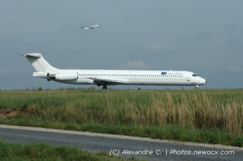 Photo avion TF-JXC : McDonnell Douglas MD80 90 de la compagie Blue Line (Paris Charles de Gaulle (LFPG))
