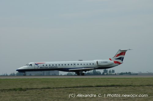 Photo avion G-EMBS : Embraer 135 145 de la compagie BA Connect (Paris Charles de Gaulle (LFPG))