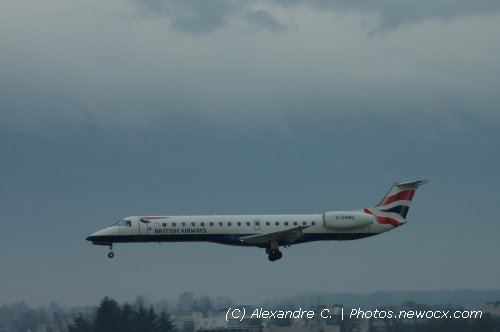 Photo avion G-EMBU : Embraer 135 145 de la compagie BA Connect (Geneva Geneve-Cointrin (LSGG))