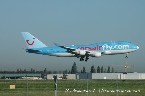 Photo avion F-HKIS : Boeing 747 de la compagie Corsair (Paris Orly (LFPO))
