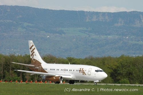 Photo avion VP-CHK : Boeing 737 de la compagie NetJets Executive Jet Aviation (Geneva Geneve-Cointrin (LSGG))