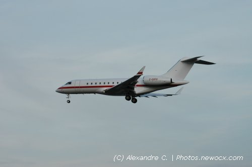Photo avion C-GDPG : Bombardier BD700 1A11 Global 5000 de la compagie Execair Aviation (Geneva Geneve-Cointrin (LSGG))
