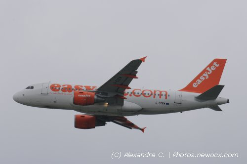 Photo avion G-EZEW : Airbus A319 de la compagie Easyjet (Paris Orly (LFPO))