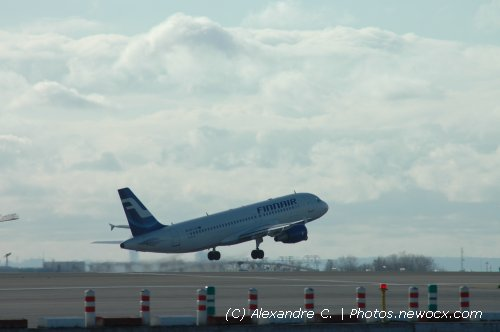 Photo avion OH-LXC : Airbus A320 de la compagie Finnair (Paris Charles de Gaulle (LFPG))