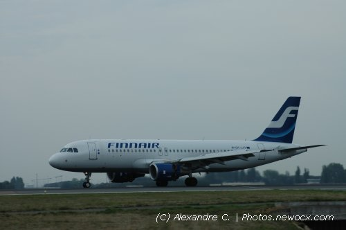 Photo avion OH-LXH : Airbus A320 de la compagie Finnair (Paris Charles de Gaulle (LFPG))