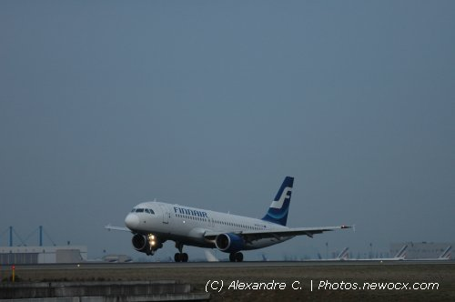 Photo avion OH-LXL : Airbus A320 de la compagie Finnair (Paris Charles de Gaulle (LFPG))