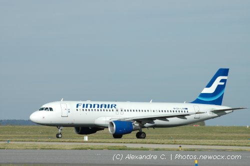 Photo avion OH-LXM : Airbus A320 de la compagie Finnair (Paris Charles de Gaulle (LFPG))