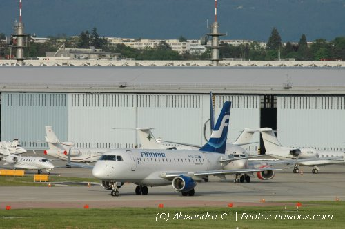 Photo avion OH-LEE : Embraer 170 175 de la compagie Finnair (Geneva Geneve-Cointrin (LSGG))