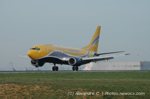 Photo avion F-GIXL : Boeing 737 de la compagie Europe Airpost (Paris Charles de Gaulle (LFPG))