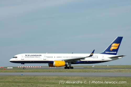Photo avion TF-FIJ : Boeing 757 de la compagie Icelandair (Paris Charles de Gaulle (LFPG))