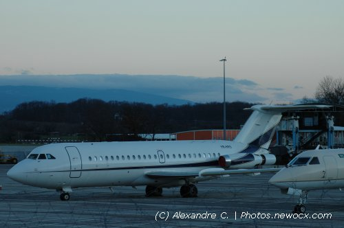 Photo avion YR-HRS : British Aircraft Corporation BAC 1 11 Series 488GH de la compagie MIA Airlines (Geneva Geneve-Cointrin (LSGG))
