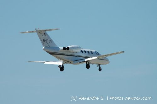 Photo avion D-ITSV : Cessna 525 CitationJet de la compagie Air Independence (Marseille Marignane-Provence (LFML))