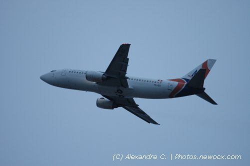 Photo avion TS-IEG : Boeing 737 de la compagie Karthago Airlines (Paris Orly (LFPO))