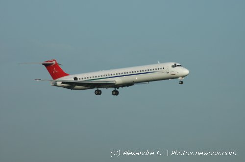 Photo avion OE-LMH : McDonnell Douglas MD80 90 de la compagie MAP Executive Flight Service (Paris Orly (LFPO))