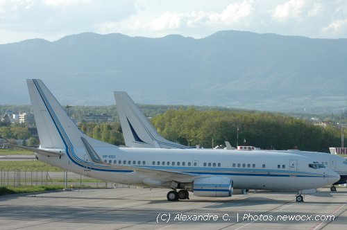 Photo avion VP-CEC : Boeing 737 Next Gen de la compagie Jet Aviation (Geneva Geneve-Cointrin (LSGG))