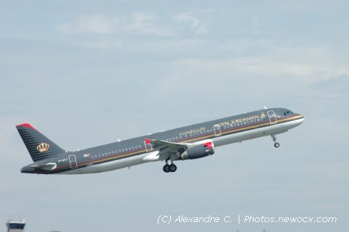 Photo avion JY-AYJ : Airbus A321 de la compagie Royal Jordanian Airlines (Paris Charles de Gaulle (LFPG))