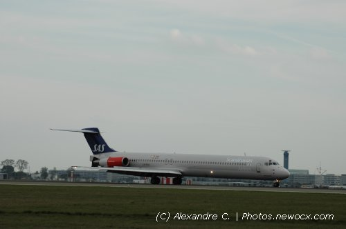 Photo avion LN-ROW : McDonnell Douglas MD80 90 de la compagie SAS (Paris Charles de Gaulle (LFPG))